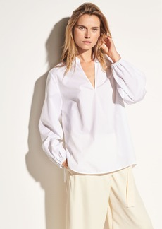 Swing Front Cotton Pullover