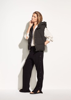 Vince Tear-Away Cotton Track Pant
