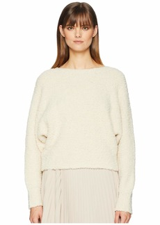 Vince Teddy Cropped Boat Neck