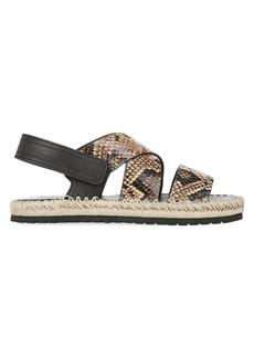 Vince Tenison Platform Leather Sandals