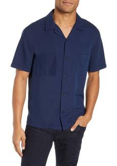 Vince Textured Cabana Slim Fit Sport Shirt