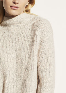 Vince Textured Funnel Neck Pullover