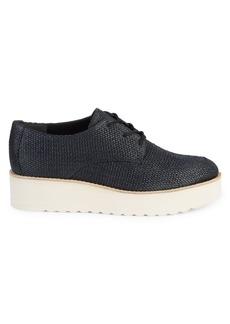 Vince Zina Textured Platform Sneakers