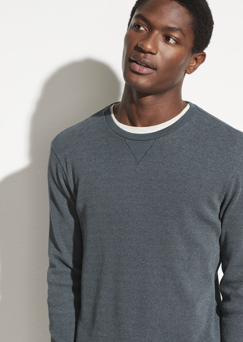 Vince Thermal Long Sleeve Crew