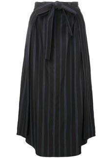 Vince tie waist skirt