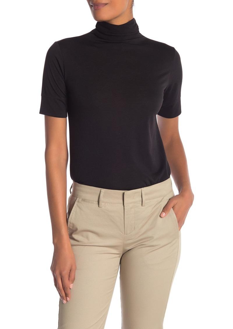 Vince Turtleneck Short Sleeve T-Shirt