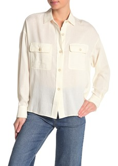 Vince Utility High/Low Shirt