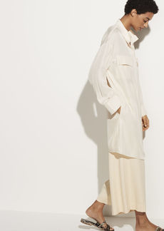 Vince Utility Shirt Dress
