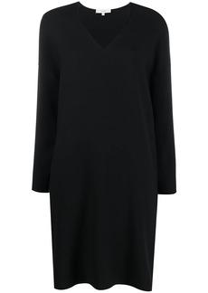 Vince v-neck loose-fit dress