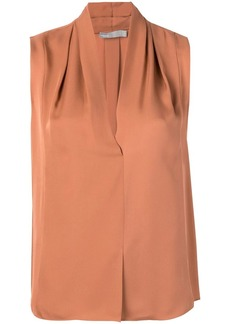Vince v-neck sleeveless blouse