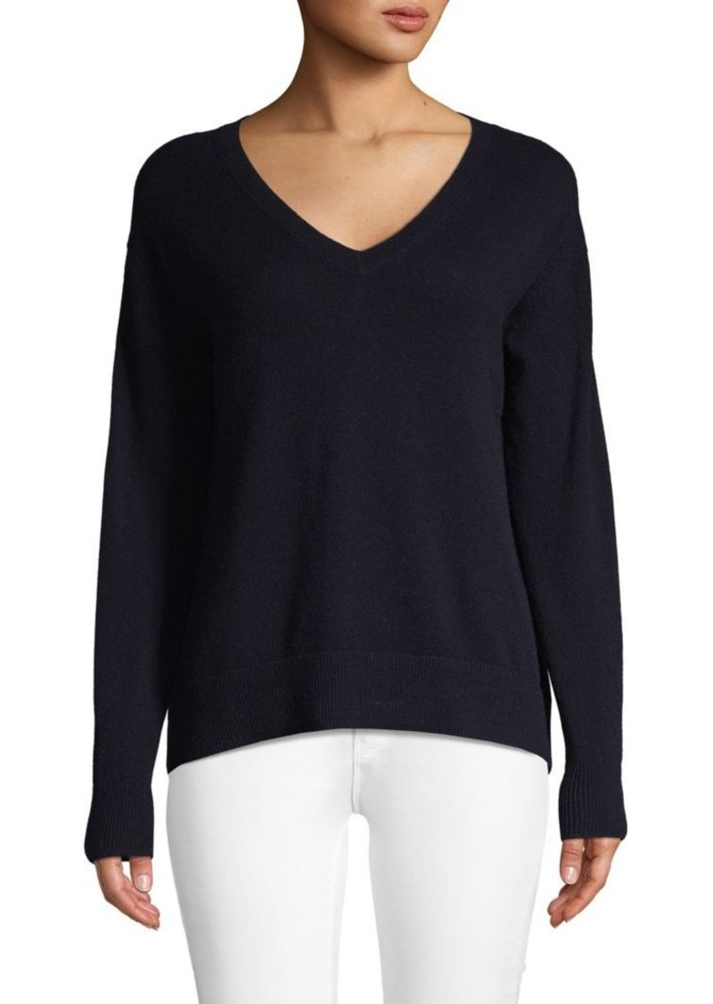 Vince V-Neck Wool & Cashmere Blend Sweater