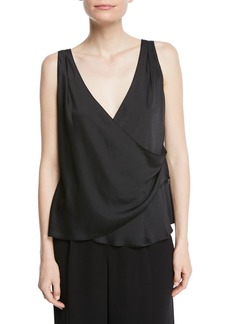 Vince V-Neck Wrap Tank Top