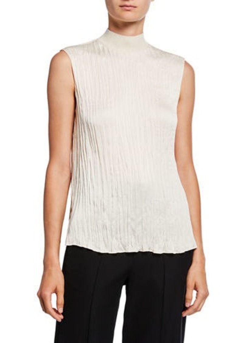 Vince Variegated Rib Shell Top