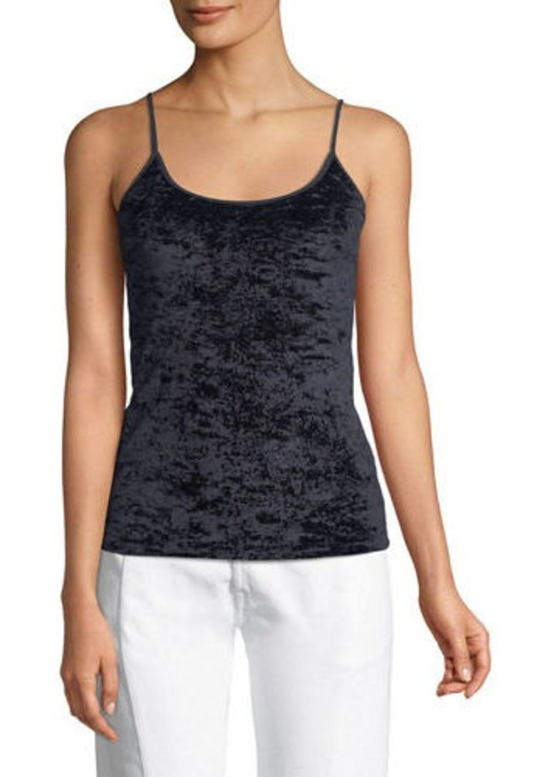 Vince Velvet Scoop-Neck Camisole Top