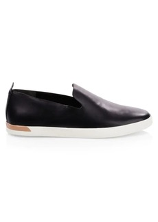 Vince Vero Leather Slip-On Sneakers