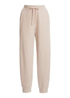 Vince - Women's Drawstring Cotton-Knit Sweatpants - Grey/neutral - Moda Operandi