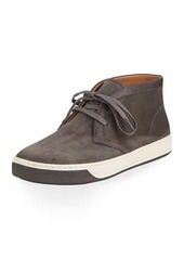 Vince Abe 2 Suede Chukka Sneaker with Leather Trim
