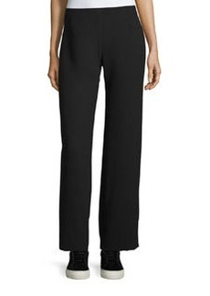 Vince Side-Zip Twill Trousers