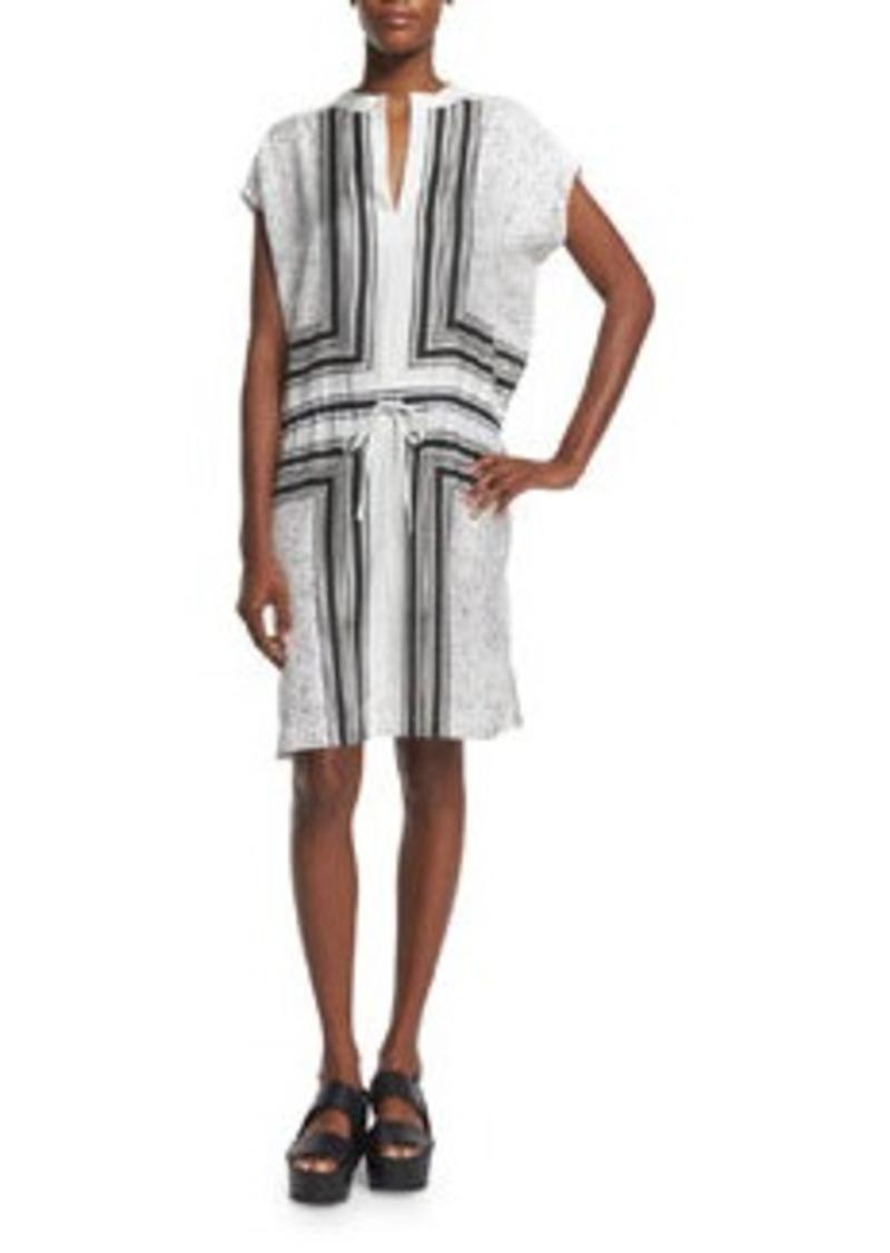 Vince SCARF PRINT DRESS