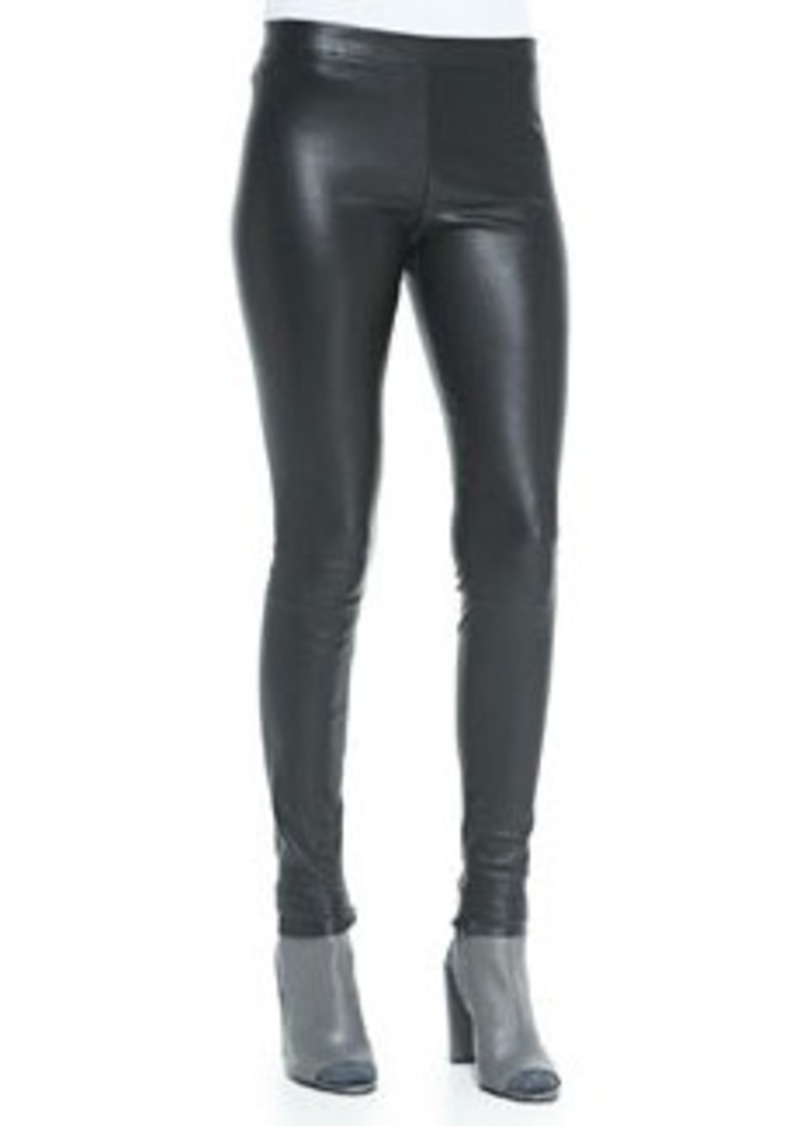 Vince Smooth Leather Leggings