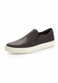 Vince Men's Ace Perforated Leather Skater Sneakers