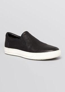 Vince Men's Ace Perforated Weave Slip-On Sneakers