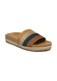 Vince Alisa Striped Slide Sandal (Women)