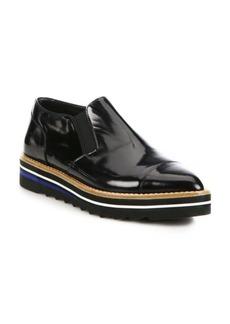 Vince Alona Patent Leather Platform Loafers