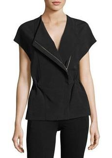Vince Asymmetric Zip-Front Jacket