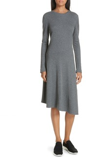 Vince Asymmetrical Midi Dress