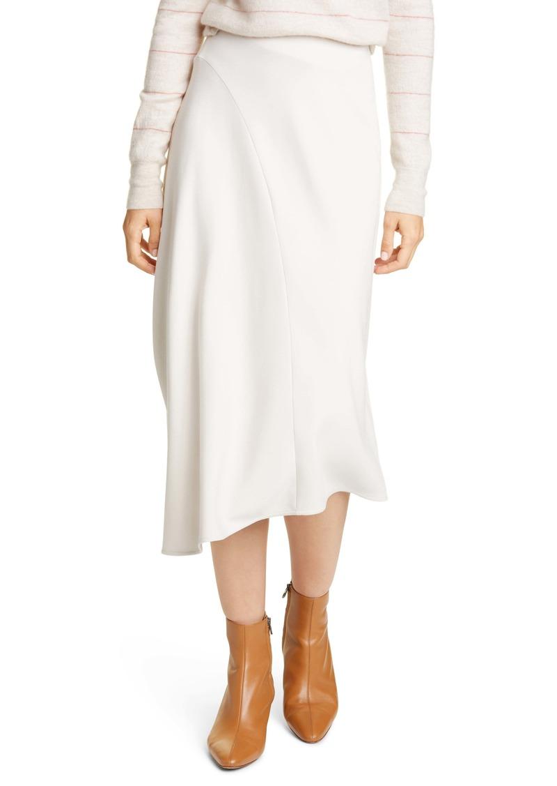 Vince Asymmetrical Midi Skirt