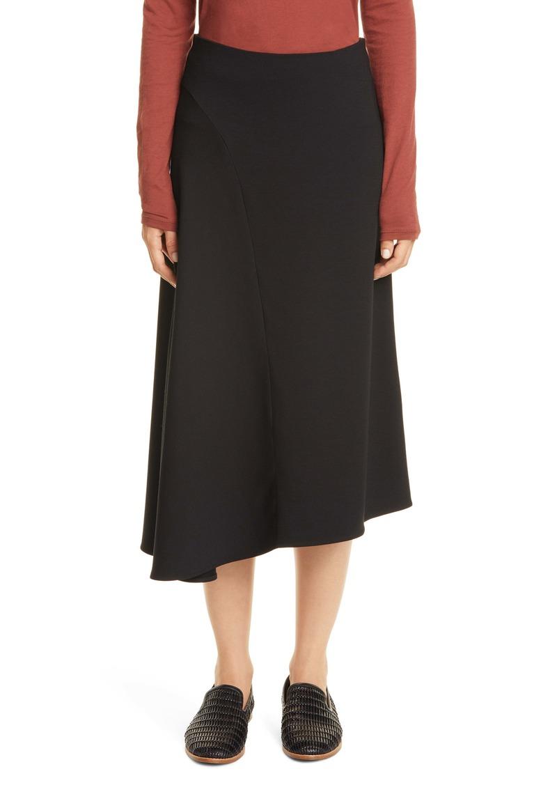 Vince Asymmetrical Seam Skirt