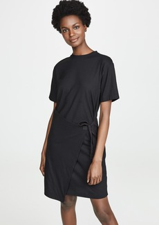 Vince Asymmetrical Side Tie Dress