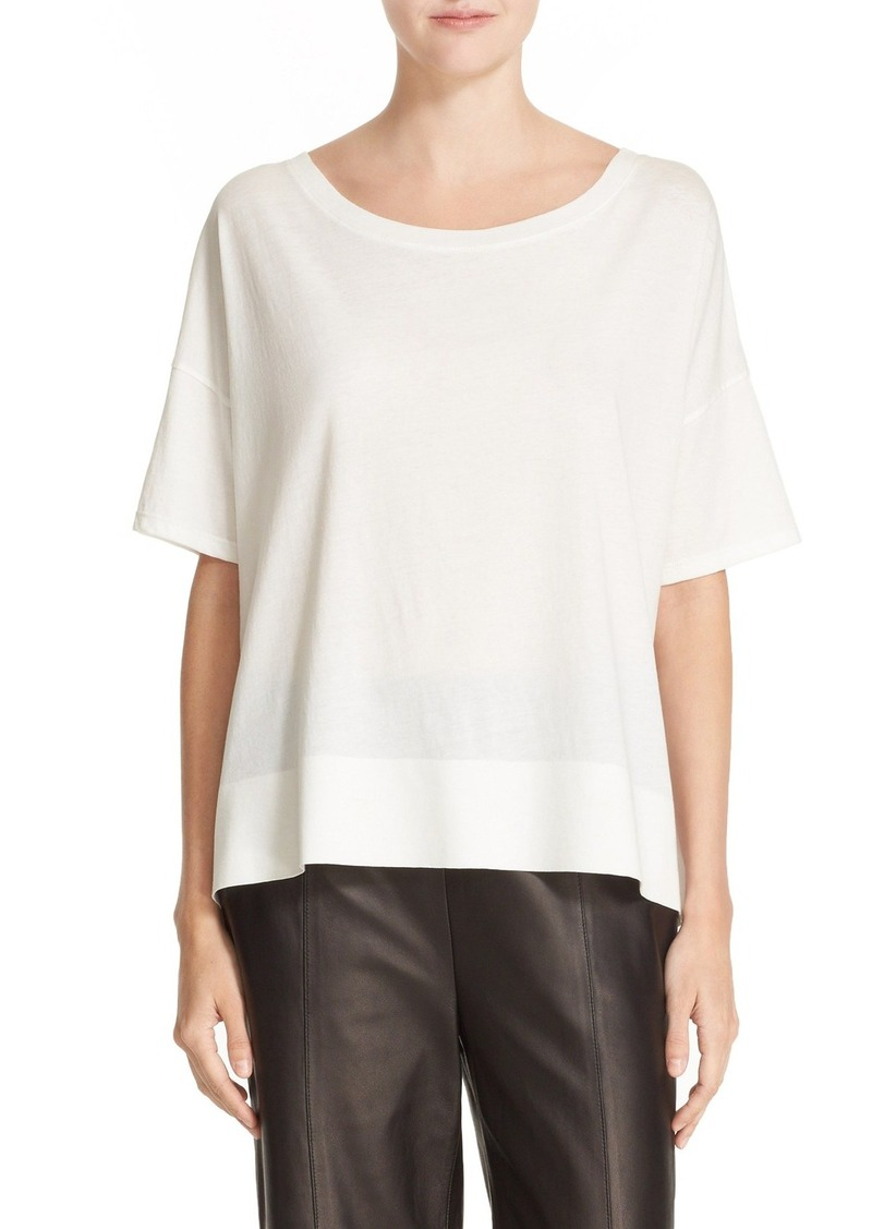 Vince Banded Cotton Tee