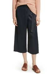 Vince Belted Crossover Culottes