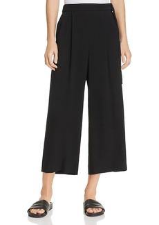 Vince Belted Pleat Front Culottes