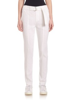 Vince Belted Straight Leg Pants