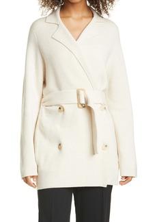 Vince Belted Wool & Cashmere Blend Cardigan Coat