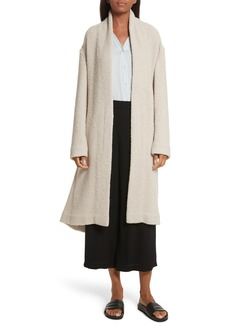Vince Belted Wool Blend Coat