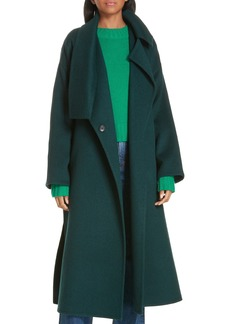 Vince Belted Wool Blend Cozy Coat