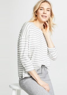 Vince Bengal Stripe Long Sleeve Tee