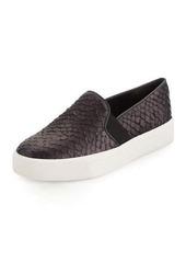 Vince Berlin Snake-Embossed Slip-On Sneaker