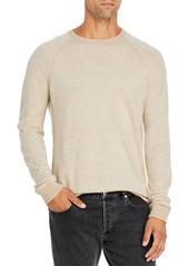 Vince Bird's Eye Wool & Cashmere Crewneck Sweater