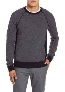 Vince Birdseye Crewneck Wool & Cashmere Sweater