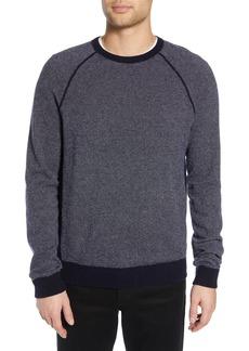 Vince Birdseye Raglan Wool & Cashmere Sweater