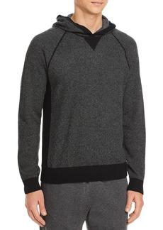 Vince Birdseye Sweater Knit Hoodie