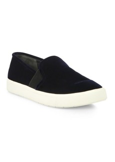Vince Blair 12 Velvet Slip-On Sneakers