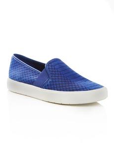 Vince Blair 5 Embossed Slip On Sneakers
