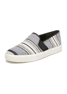 Vince Blair Striped Fabric Sneakers