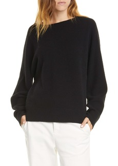 Vince Boat Neck Dolman Sleeve Cashmere Sweater